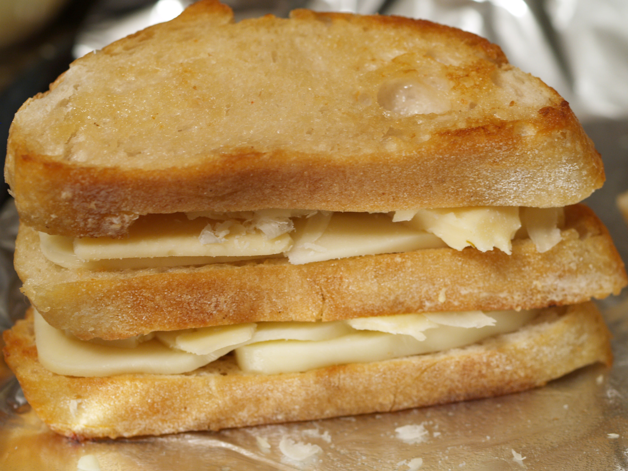 Double Decker Grilled Cheese