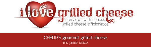 I Love Grilled Cheese: CHEDD'S gourmet grilled cheese