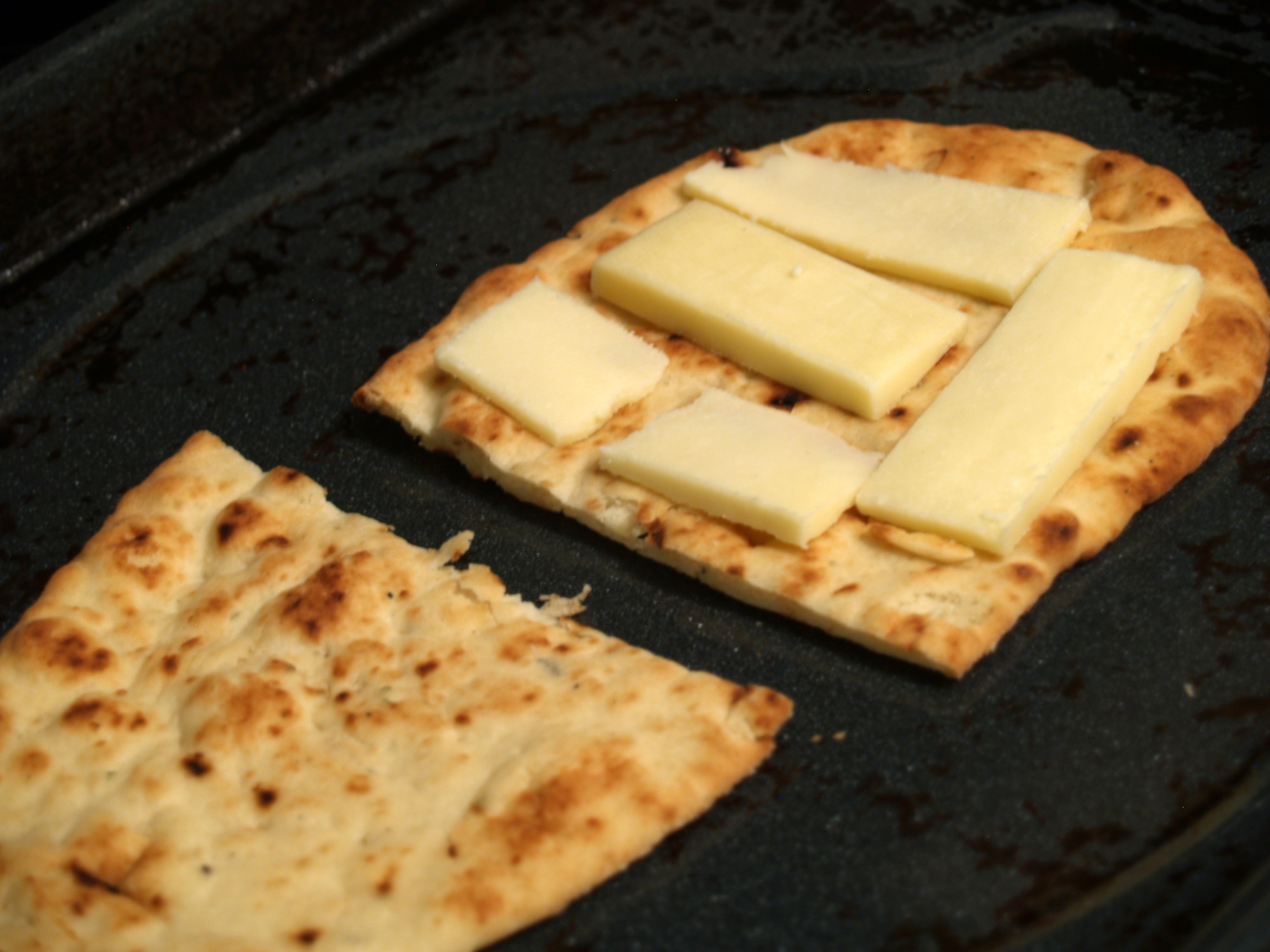 Naan & Paneer Grilled Cheese