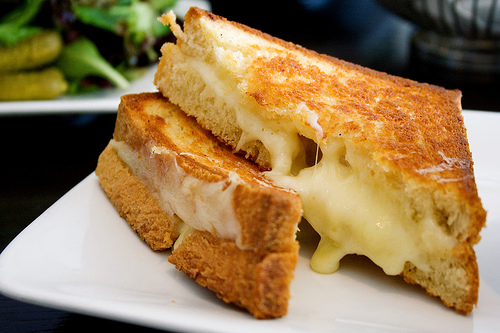 "Serious Eats asks ""How Do You Define a Grilled Cheese Sandwich?"" I try to answer."