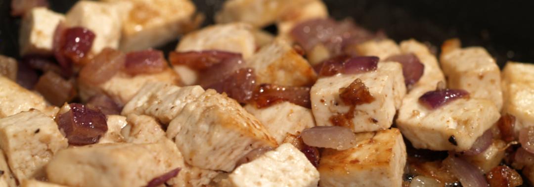 Tofu Grilled Cheese: Tofu Mixture