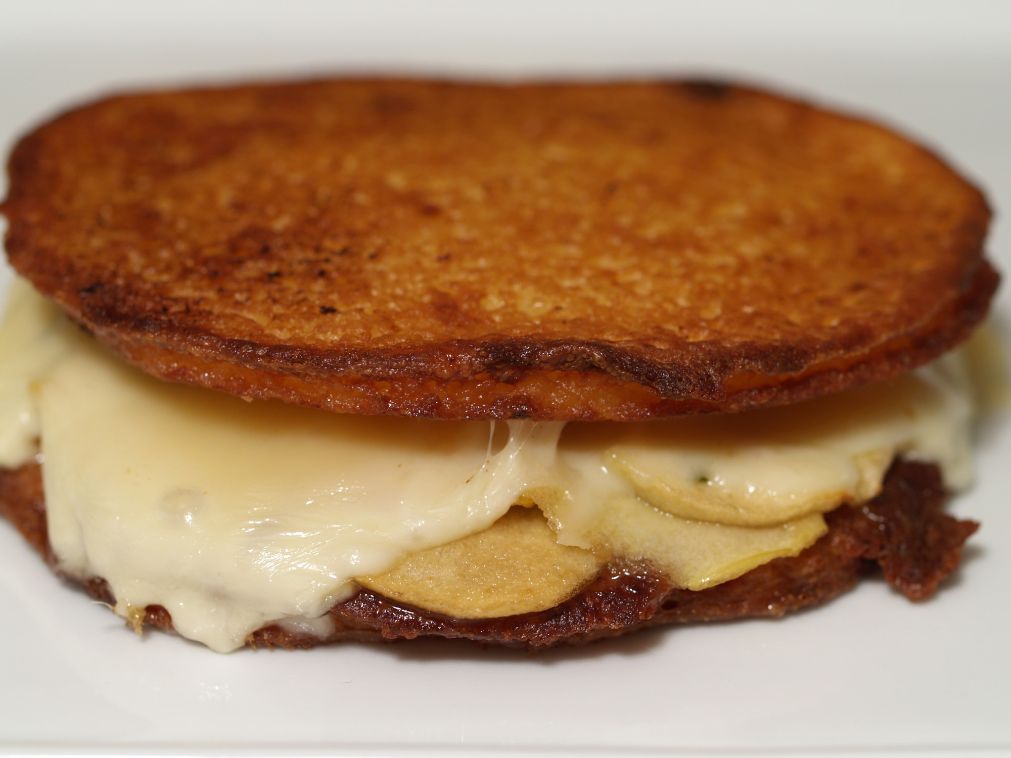 Potato Pancake Grilled Cheese