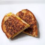 Cheddar Grilled Cheese w/Garlic Crusted Sourdough