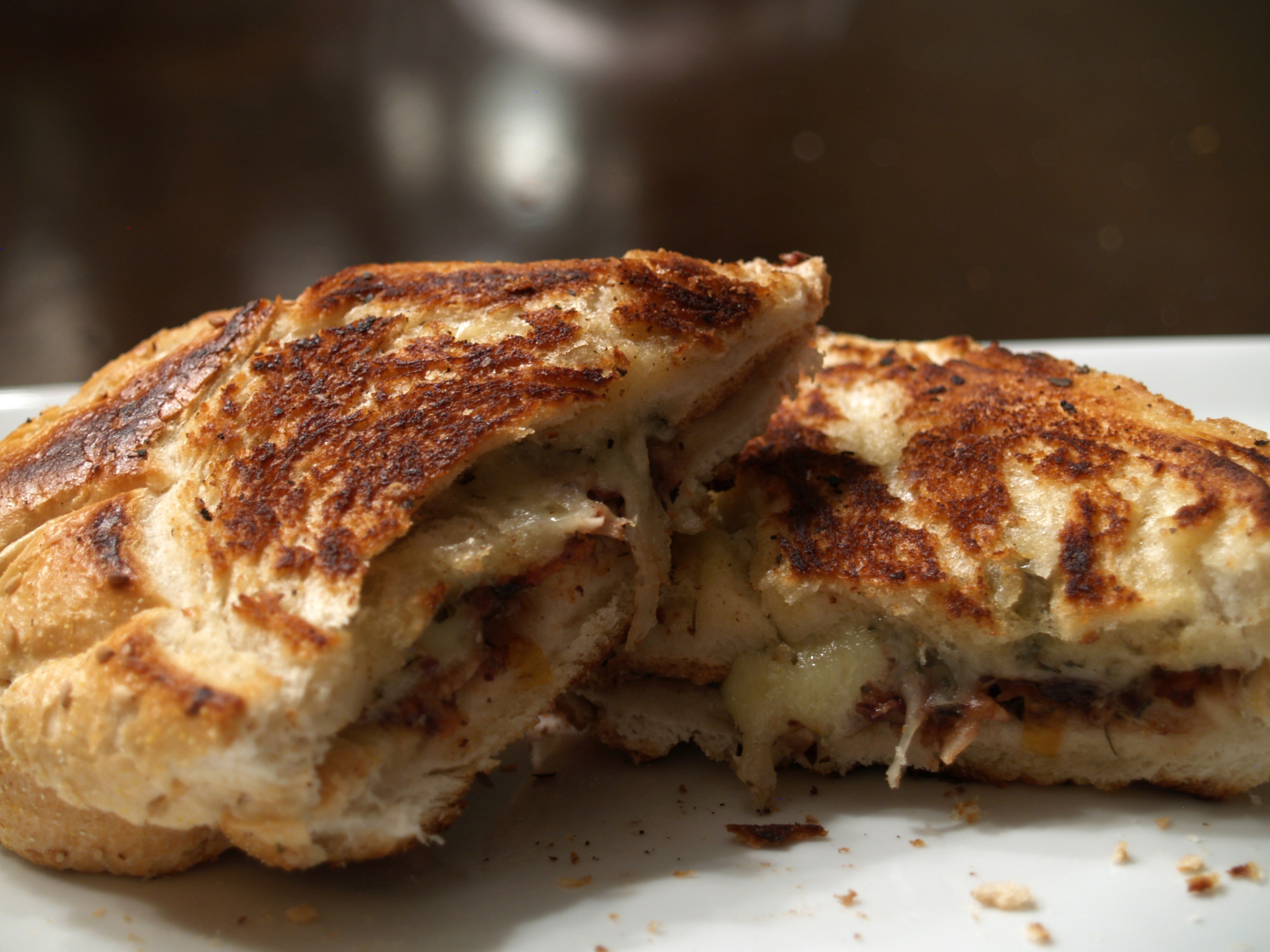 Tapenade Grilled Cheese