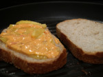 Red Pepper Mayo Grilled Cheese