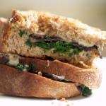 Greens & Mushrooms Panini (NY Times)