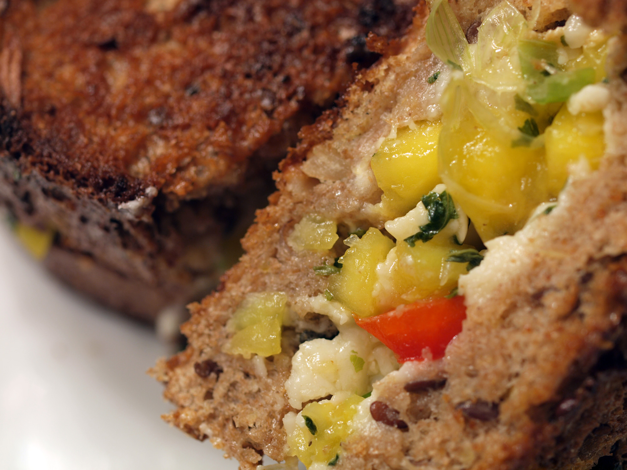 Mango Salsa Grilled Cheese