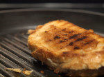 Goat Milk Cheddar Grilled Cheese
