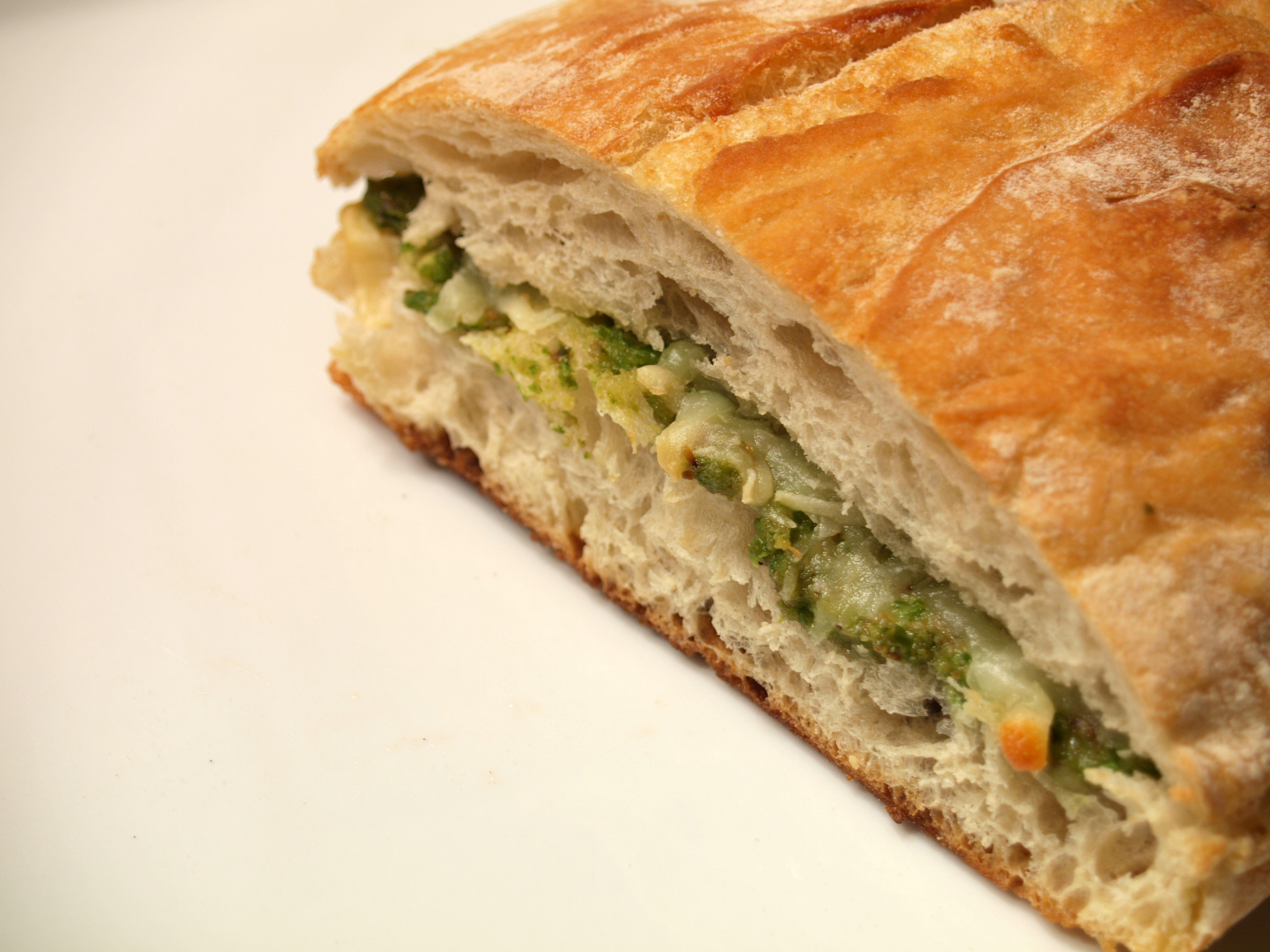 The Atlantics Pea Pesto Grilled Cheese