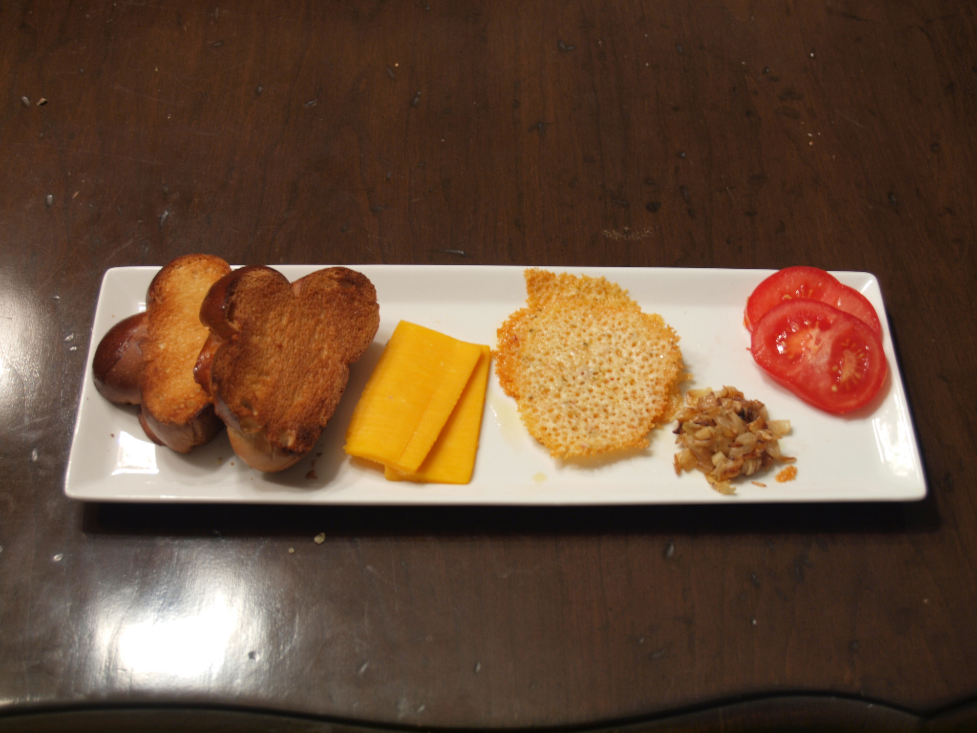 Deconstructed Grilled Cheese