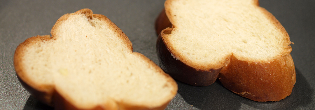 Deconstructed Grilled Cheese: Grilling the Challah