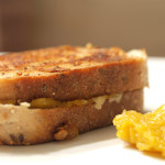 Delicata Squash Grilled Cheese