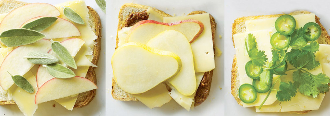 Martha Stewart: Martha Stewart's 'Grown-Up Grilled Cheese Sandwiches