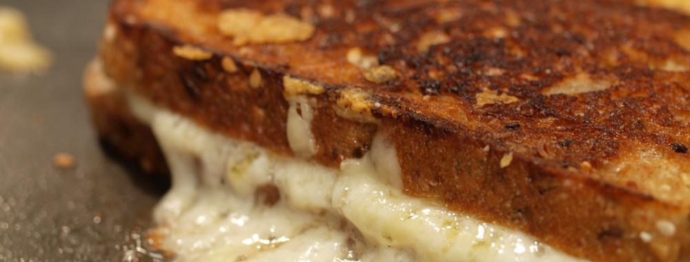 Quadrello di Bufala Grilled Cheese