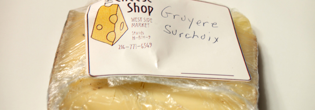 Cinnamon Bread Grilled Cheese: Gruyere Surchoix