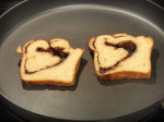 Cinnamon Bread Grilled Cheese