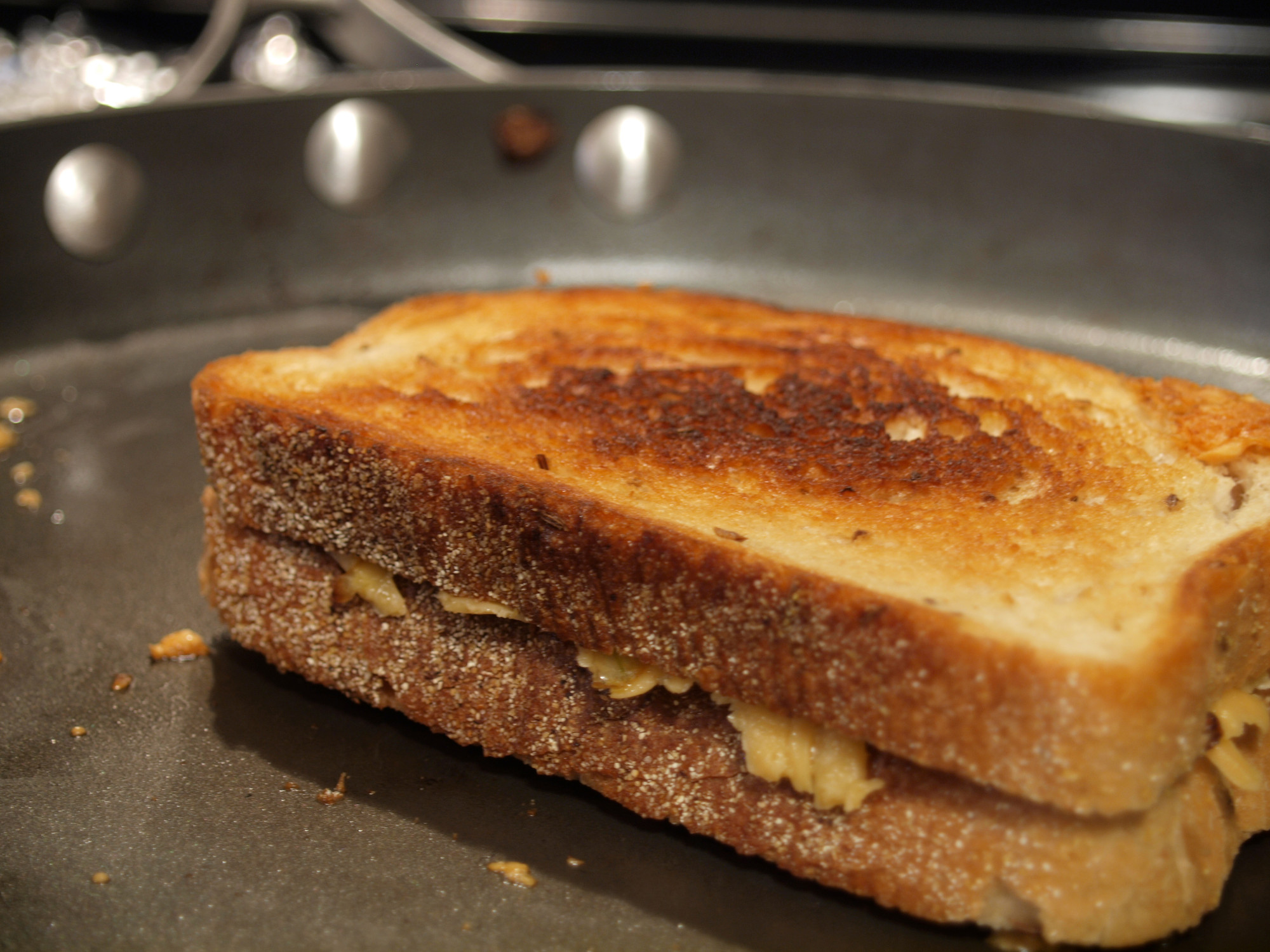 Three Year Aged Gouda Grilled Cheese