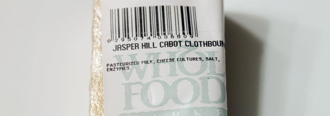 Jasper Hill Cabot Clothbound Cheddar