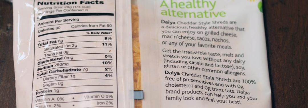 Daiya Vegan Cheddar Grilled Cheese: Daiya Vegan Cheddar