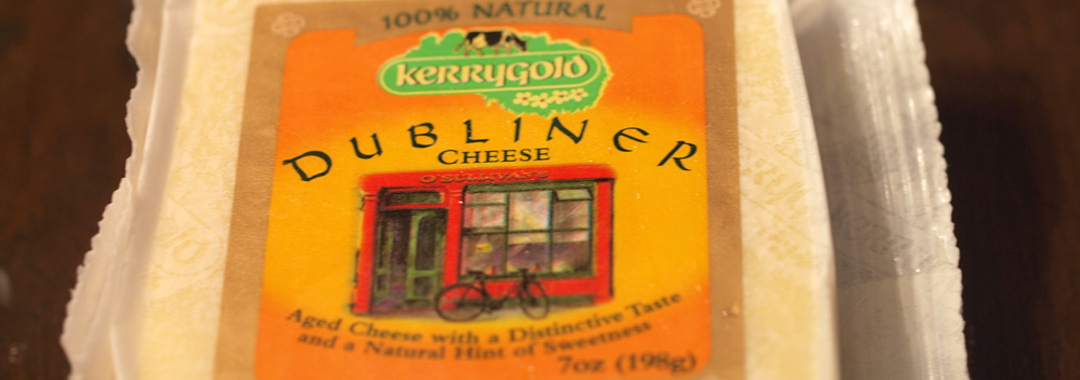 Cranberry Cheese Grilled Cheese: Kerrygold Dubliner