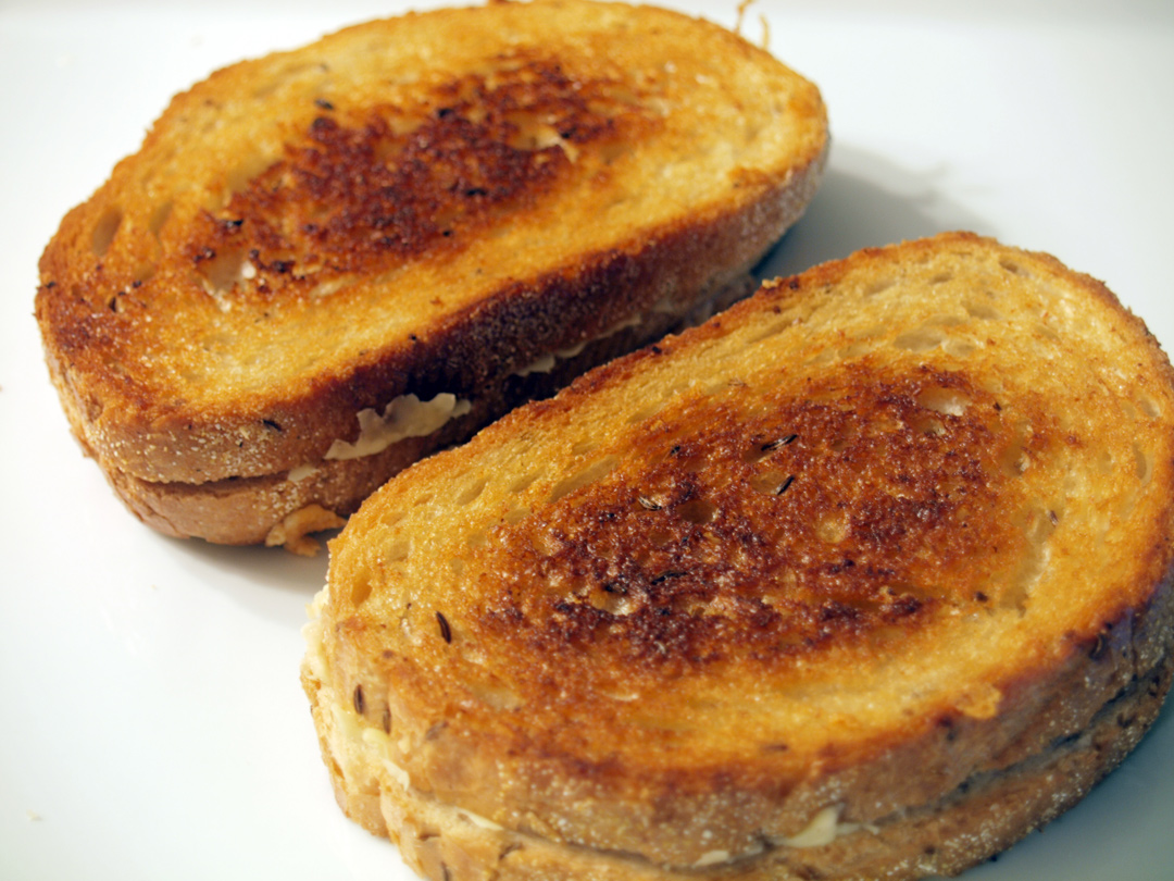 Kerrygold's Ivernia Cheese Grilled Cheese