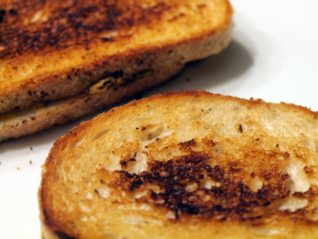 Mackenzie Creamery's Toasted Pumpkin Chevre Grilled Cheese