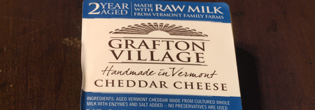 Glazed Carrots & Edamame Grilled Cheese: Grafton Village Raw Milk Cheddar