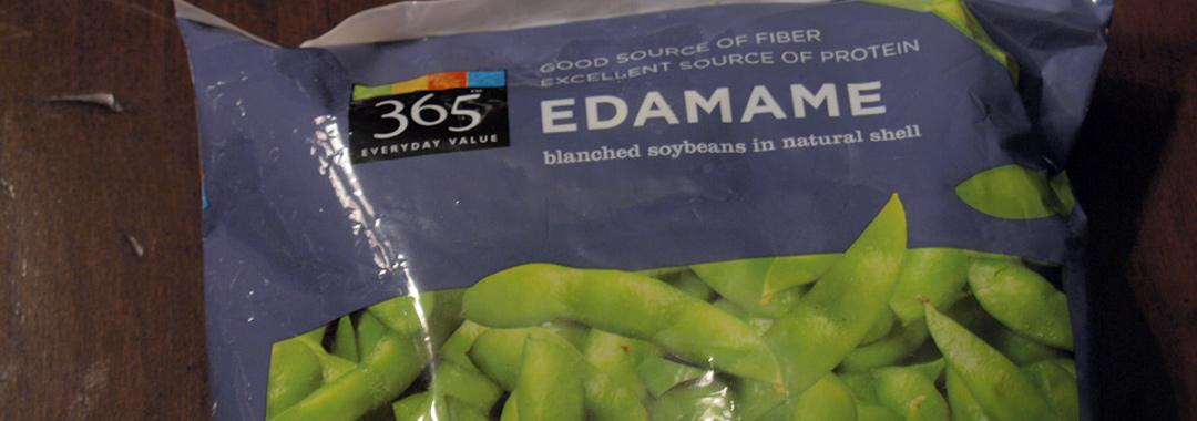 Glazed Carrots & Edamame Grilled Cheese: Edamame