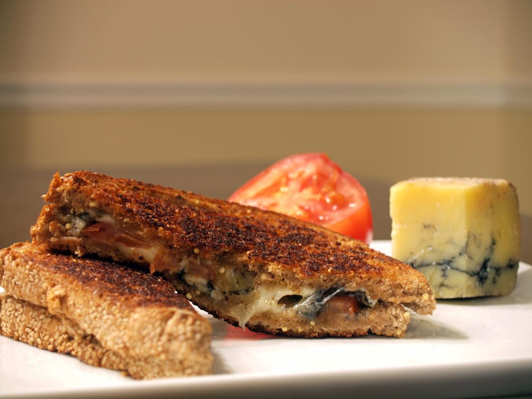 Kokoborrego Cheese's Headwaters Tomme Grilled Cheese