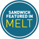 This Sandwich Featured in Melt: 100 Amazing Adventures in Grilled Cheese