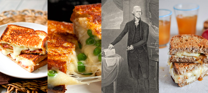 Grilled Cheese Roundup: Thomas Jefferson, Caramel Apple, Bacon Brie, Caramelized Onion, and Much More