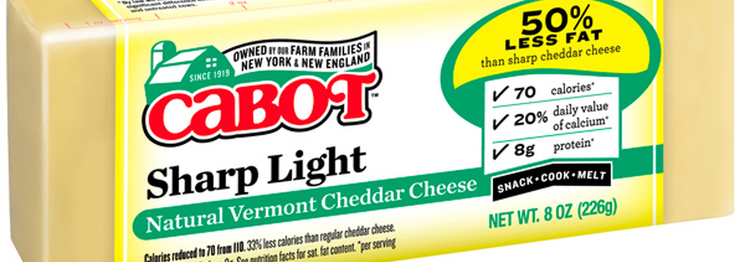 Cabot Sharp Light Cheddar Cheese