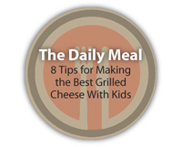 The Daily Meal:  8 Tips for Making the Best Grilled Cheese With Kids