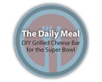 The Daily Meal: DIY Grilled Cheese Bar for the Super Bowl