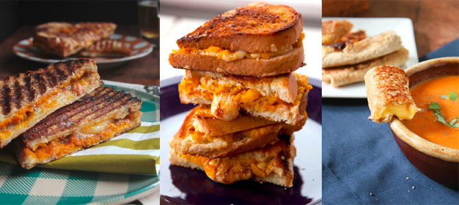 Grilled Cheese Roundup: Fall Grilled Cheese Sandwiches, Quark, Grilled Cheese Rolls and More