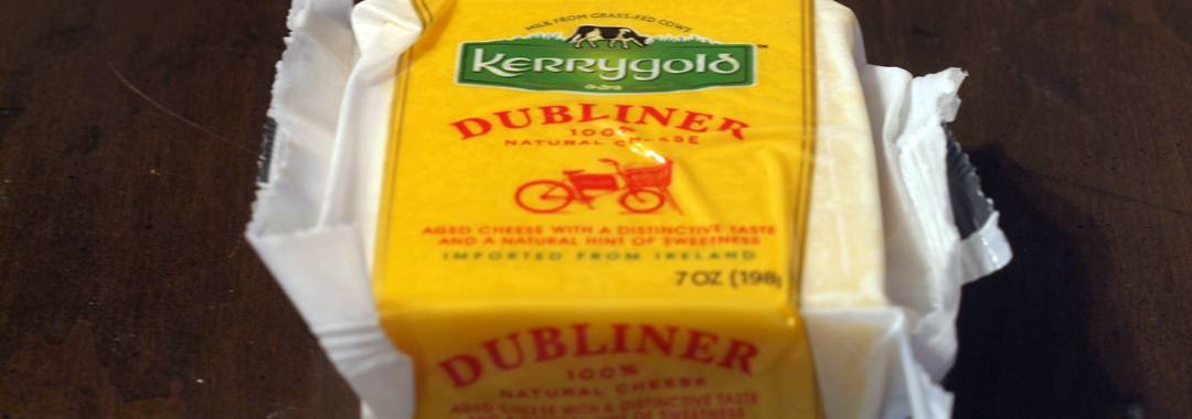 Roasted Poblano Grilled Cheese: Kerrygold Dubliner
