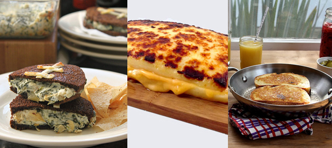 Grilled Cheese Roundup: An Overstuffed Edition Featuring Lots of Onion