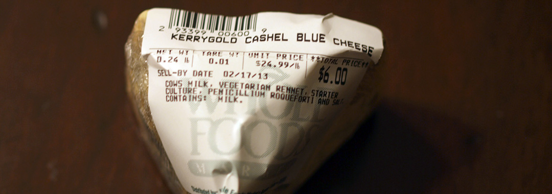 Kerrygold Cashel Blue Grilled Cheese: Kerrygold Cashel Blue Farmhouse Cheese