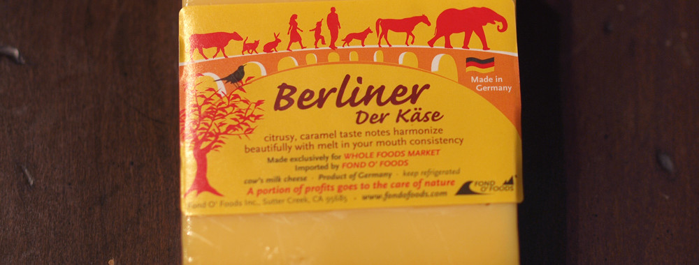Berliner der Kase Cheese (Whole Foods Exclusive)
