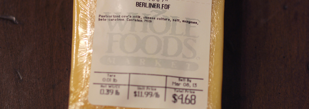 Berliner der Kase (Whole Foods Exclusive)