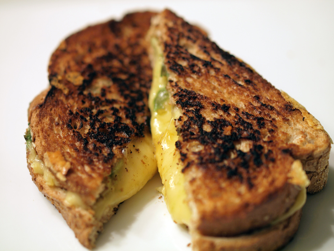 Berliner der Kase Cheese Grilled Cheese