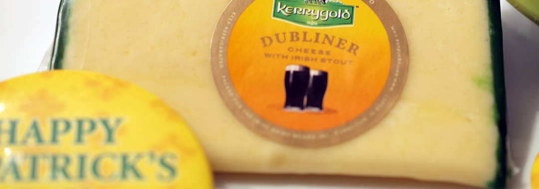 St. Patrick's Day Irish Soda Bread Grilled Cheese: Kerrygold Dubliner Cheese w/Irish Stout