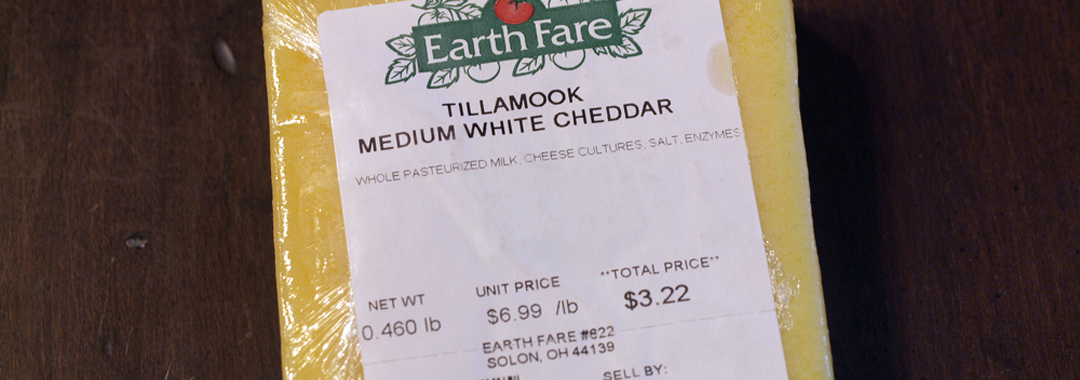 Tillamook Sharp White Cheddar
