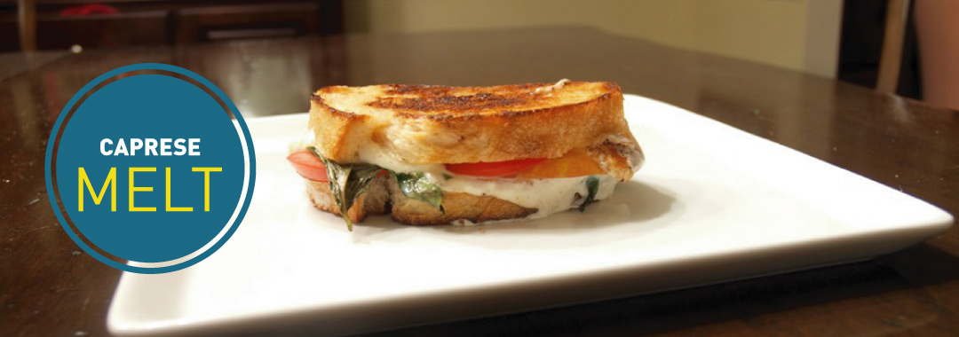 Featured: Caprese Grilled Cheese