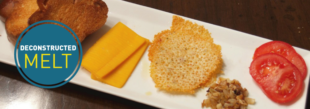 Featured: A Deconstructed Grilled Cheese Sandwich