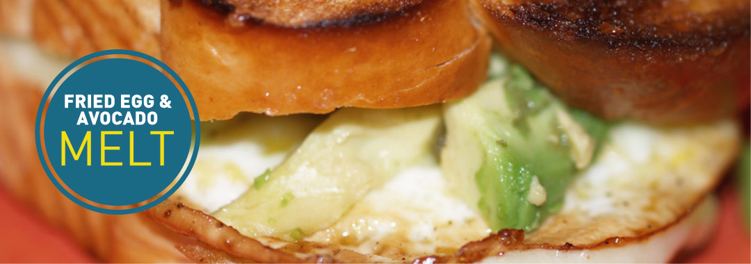 Featured: Fried Egg & Avocado Grilled Cheese