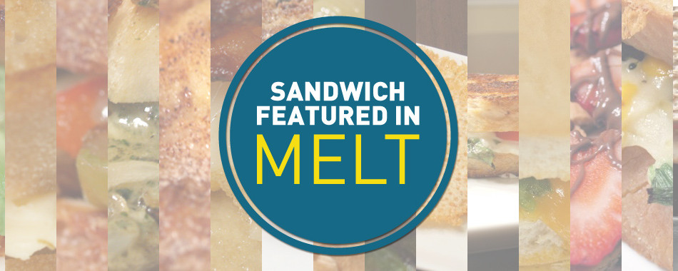 GrilledShane.com Sandwiches Featured in Melt Cookbook