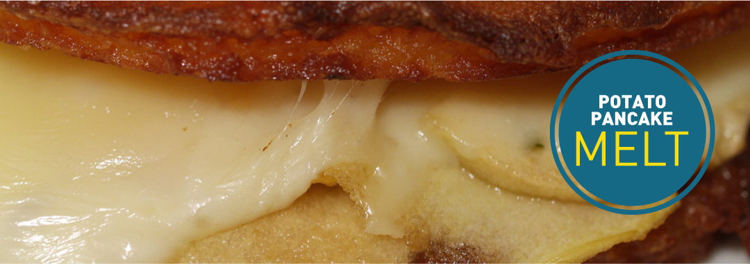 Featured: Potato Pancake Grilled Cheese