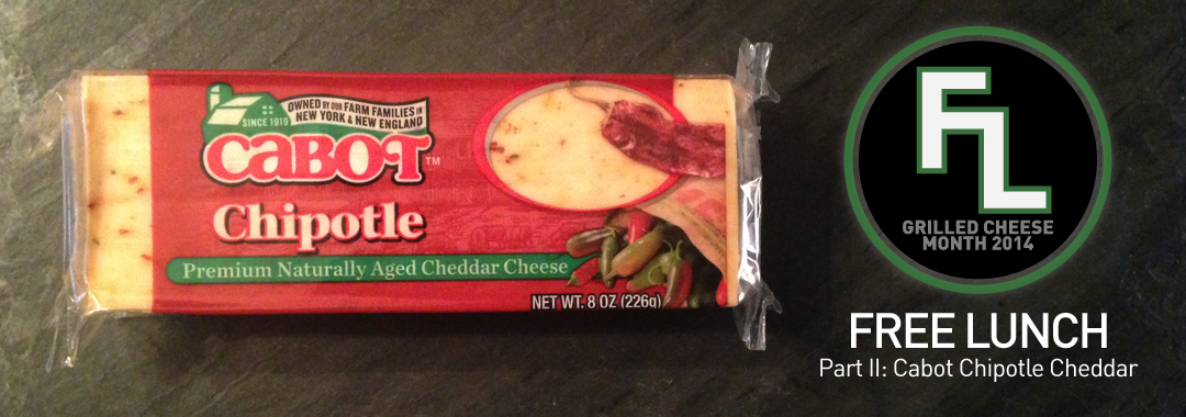 Free Lunch: Cabot Chipotle Cheddar