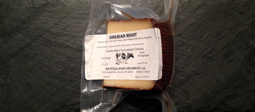 Local Lunch: Mayfield Road Creamery Siberian Night
